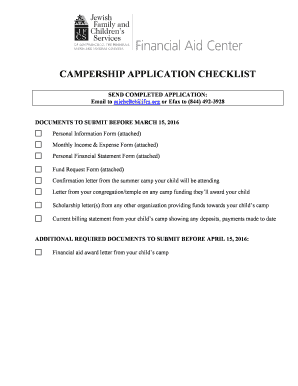 Get camp letters to your child Samples to Fill Online in PDF
