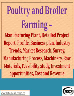 Fillable poultry processing pdf Forms and Document Blanks to Submit