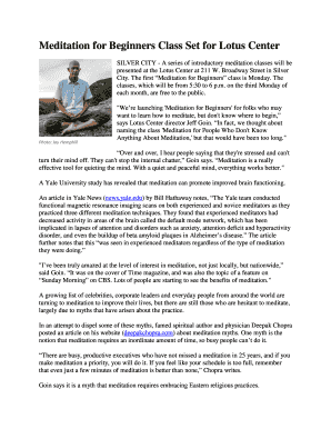 Meditation For Beginners Jack Kornfield Pdf