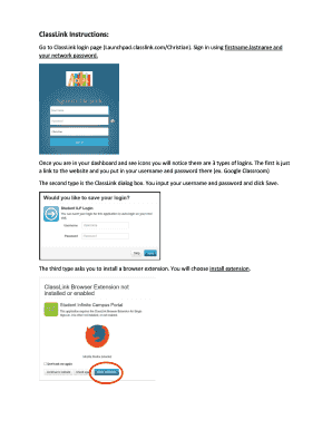 Fillable classlink login - Edit Online, Print & Download