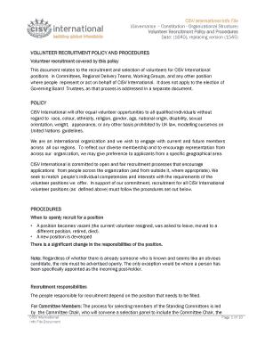 Fillable recruitment tracker template excel edit print download volunteer recruitment policy and procedures maxwellsz