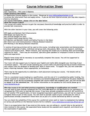 itec holistic massage case studies examples - Edit Online, Fill Out