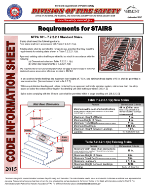 Fillable Online New Stairs Table 7 2 2 2 1 1(b) Fax Email