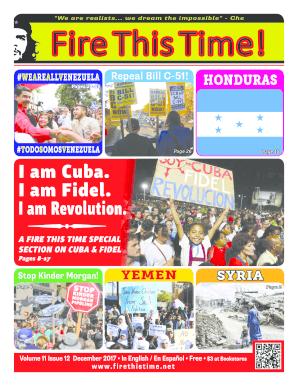 Fillable Online I am Cuba  I am Fidel  I am Revolution