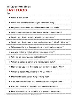 Editable complaint about restaurant service - Fillable
