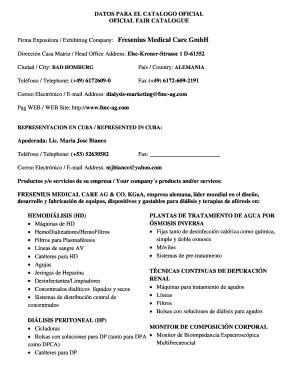 fresenius 2008t preventive maintenance - Fillable