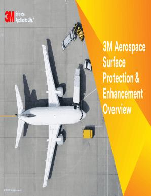 Fillable Online 3M Aerospace Surface Protection & Enhancement