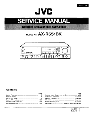 fillable online jvc ax 1100 service manual usermanual wiki fax rh pdffiller com service manual kwikee digisync room slide service manual viking mt4097s lawn tractor
