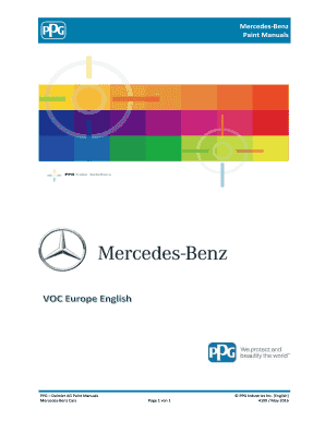 Fillable Online Mercedes-Benz Paint Manuals - XENTRY Portal