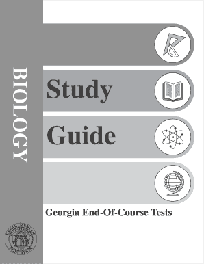 fillable online biology a eoct study guide mr uchime s science rh pdffiller com biology eoct study guide georgia biology eoc study guide pdf