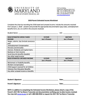 w2 form umd  Fillable Online OSFA - Printable Forms - UMD Financial Aid ...