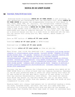 fillable online nokia e5 00 user guide nokia e5 00 user guide fax rh pdffiller com Nokia E75 Nokia X6 00 8GB Review