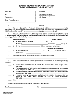 Contra costa county divorce forms