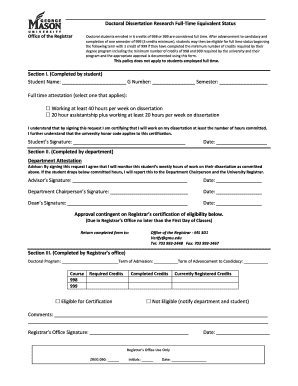 Doctoral dissertation agreement form gatech