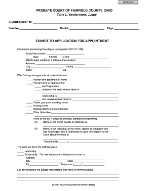 court docket codes ohio - Editable, Fillable & Printable Templates