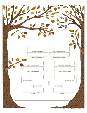 Family Tree Magazine Decorative Family Tree Chart Download Certification Report