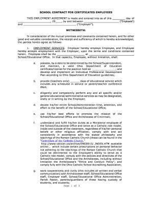 printable sample letter agreement between employer employee fill