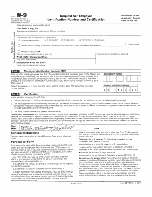 Printable w 9 form 2017 pdf - Fill Out & Download Online Blanks in ...