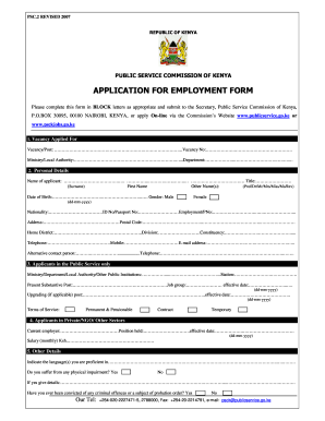 Pan Example Of Personal Details Filled Section On Psckgoke For An  Unemployed Person Form