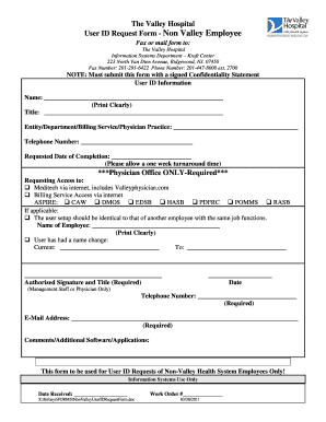 employee id form