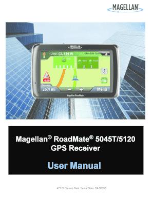 roadmate 5045 lm manual to print out fill online printable rh pdffiller com Magellan GPS Updates Magellan GPS Updates