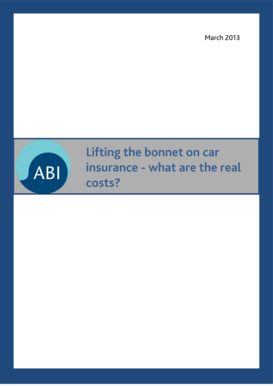 Lifting the bonnet on car insurance - what are the real costs?