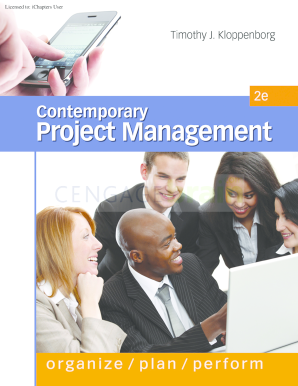contemporary project management 3rd edition  download form