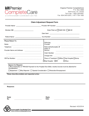 Fillable Online Virginia Insurance Card Form Fax Email