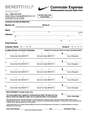 Fillable Online Nike - 2010 Claim Form - CERA.doc Fax Email Print ...