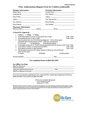 Fillable Online mainecarepdl Prior Authorization Request Form for ...