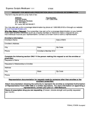 Fillable Online Coverage Determination Form - Express