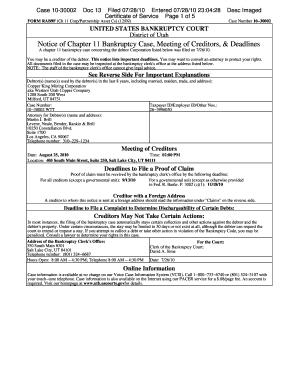 Adjudicators field manual chapter 22 bankruptcy