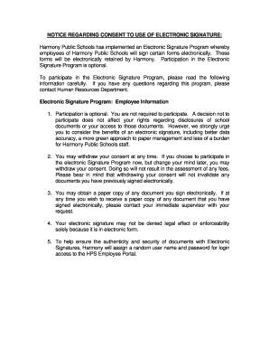 Fillable Online EMP-7 Digital Signature Consent Form.pdf Fax Email ...