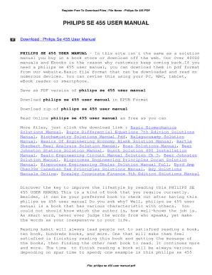 fillable online 7163 bt glide ug 7 fax email print pdffiller rh pdffiller com Philips TV User Manual Philips User Guides Speaker Bt7900