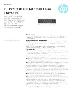 Fillable Online PSG APJ Commercial Desktop Datasheet 2014 template ...