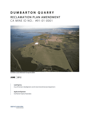 Dumbarton Reclamation Plan v20062012