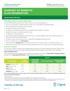 summary of benefits plan information - Christian Health Share Plans