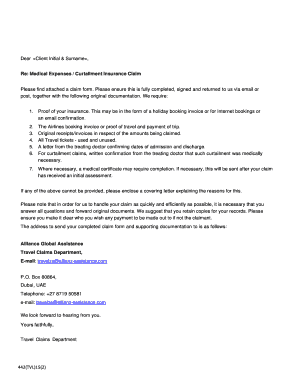 Fillable Online Insurance claim form - Allianz Global ...