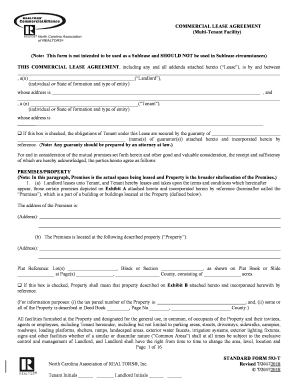 Fillable Online 593 T Commercial Lease Agreement Multi