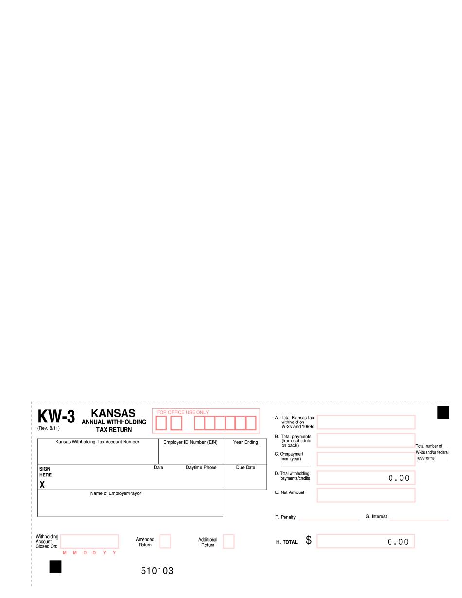 KW-3 Form KS