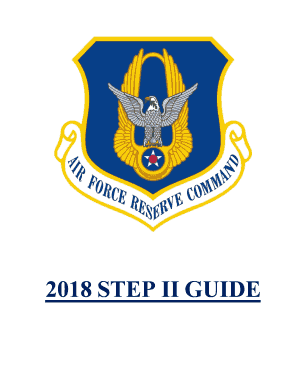 Fillable Online Guide for IRs - Air Reserve Personnel Center
