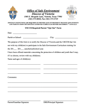 fillable online curriculum for safe enviorinment fax email print
