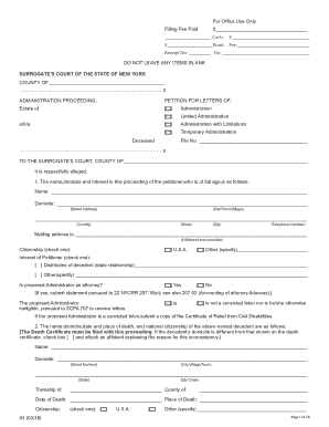2018 NY Form A1 Fill Online, Printable, Fillable, Blank - PDFfiller