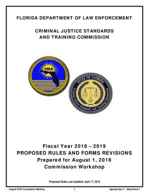 Fillable Online CRIMINAL JUSTICE STANDARDS Fax Email Print