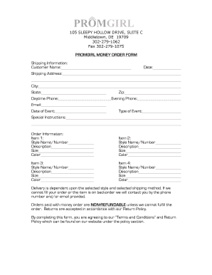 e money order form  Fillable Online PG Money Order Form - Kleinfeld Bridal Party ...