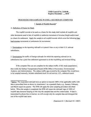 waybill sample directions statement 81 1
