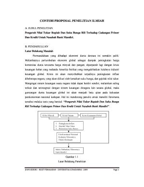Contoh Proposal Penelitian Ilmiah Fill Online Printable Fillable Blank Pdffiller