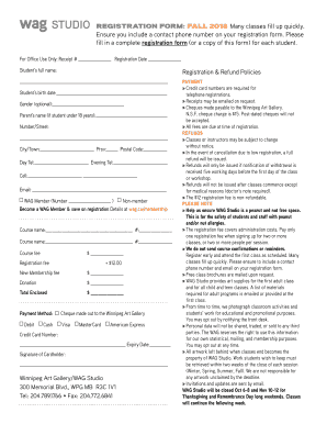 Fillable Online form - Winnipeg Art Gallery Fax Email Print - PDFfiller