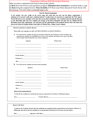biomedical science dissertation