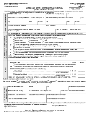 Death certificates are required by law for multiple purposes.